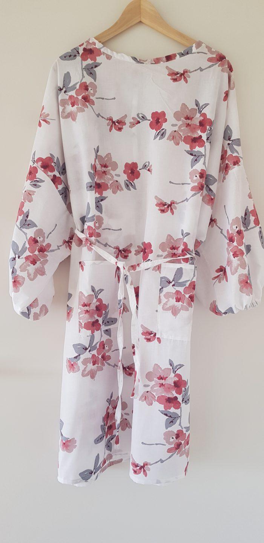 surblouse lavable en tissu imprimé fleuri La Romantique