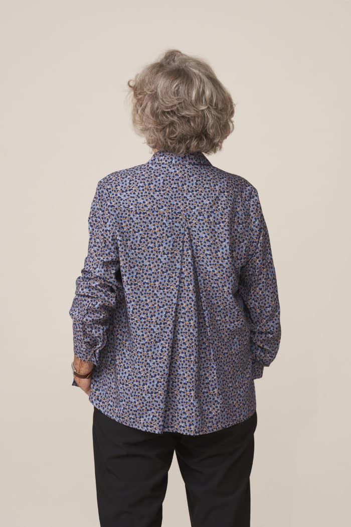 chemise femme senior adapté