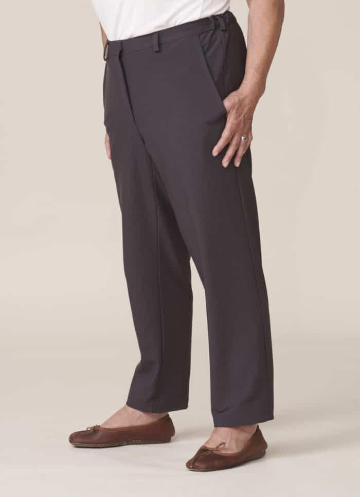 pantalon sans boutons facile à fermer pour seniors
