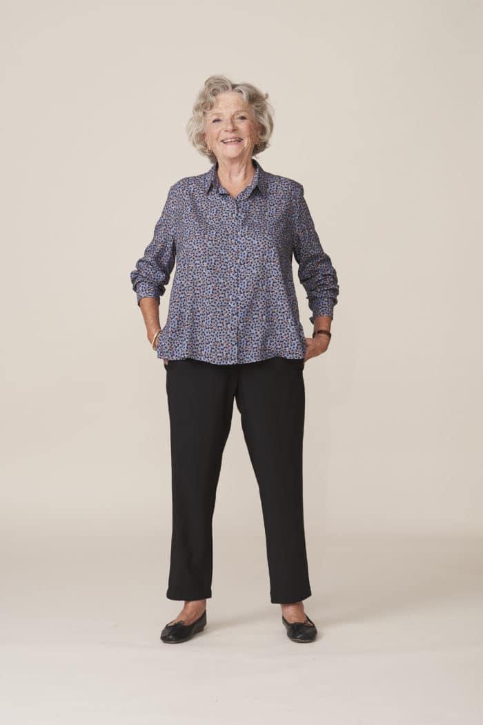 vêtements chics faciles à enfiler pour seniors