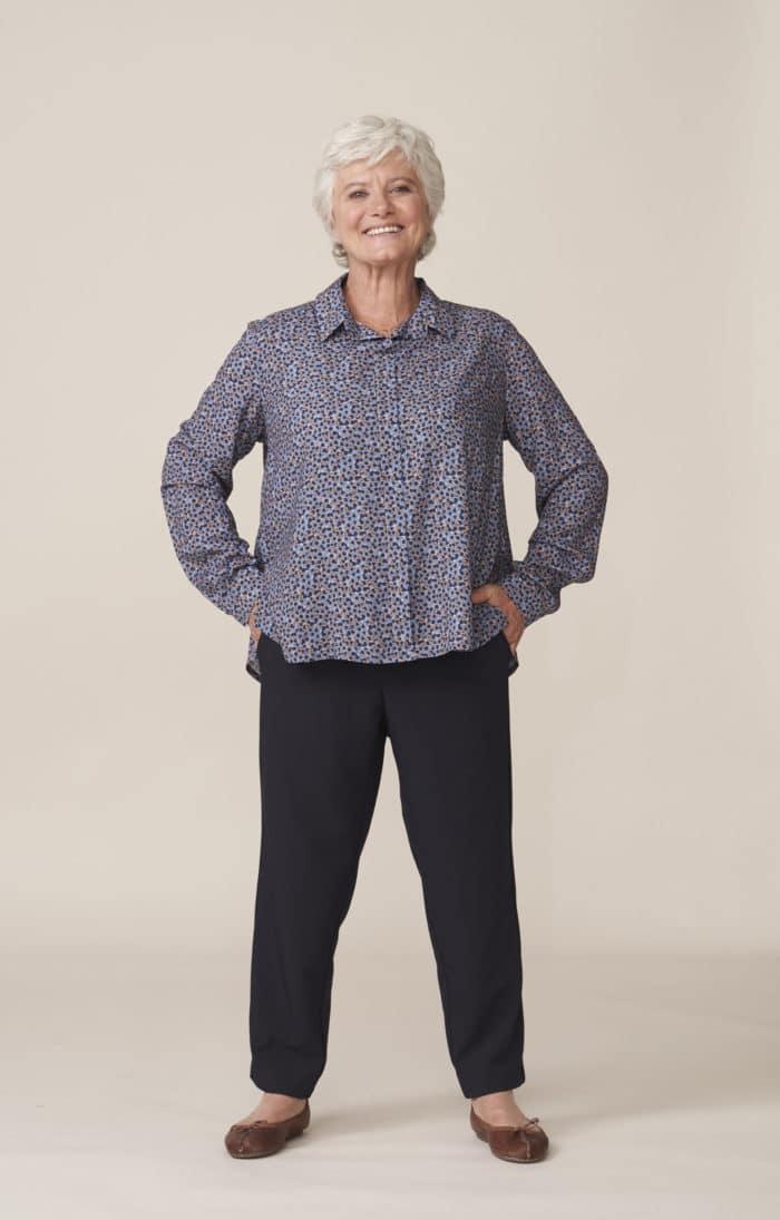 vêtements élégants adaptés pour seniors dépendants