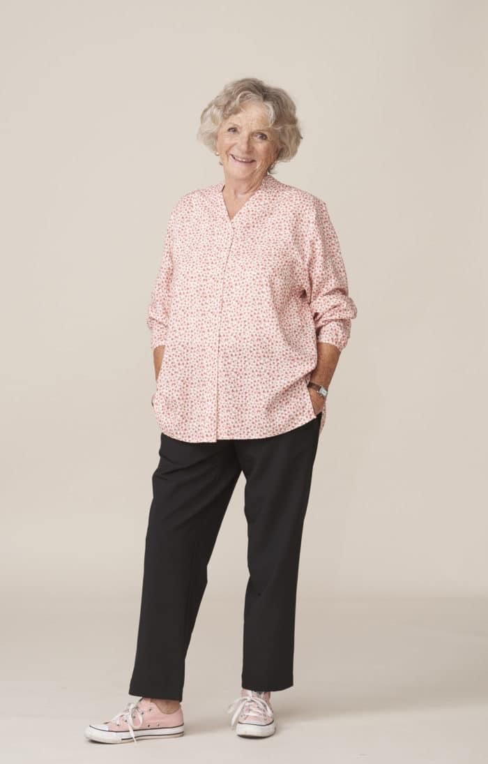 vêtements chics et élégants pour seniors faciles à enfiler