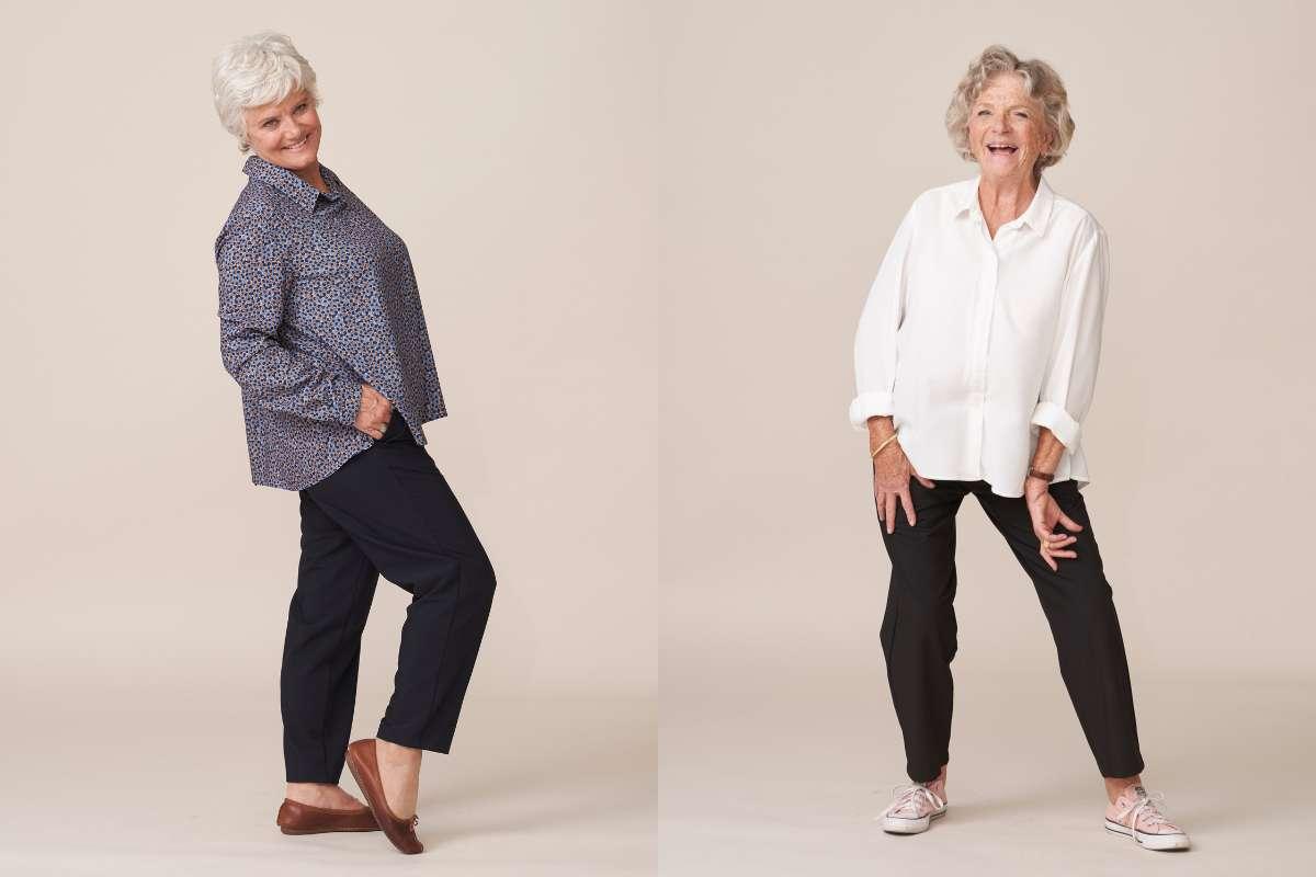 forestime vetements seniors confortables sans boutons