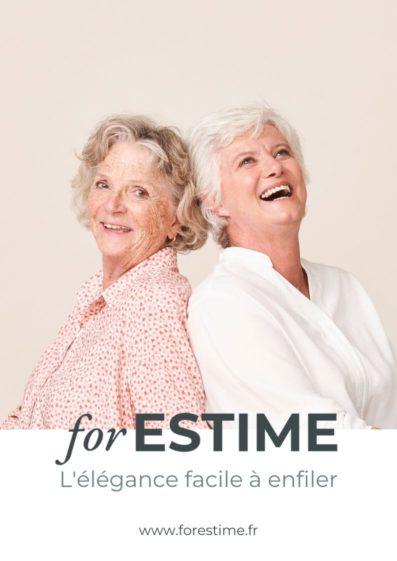 forESTIME catalogue de vetements pour seniors pratiques