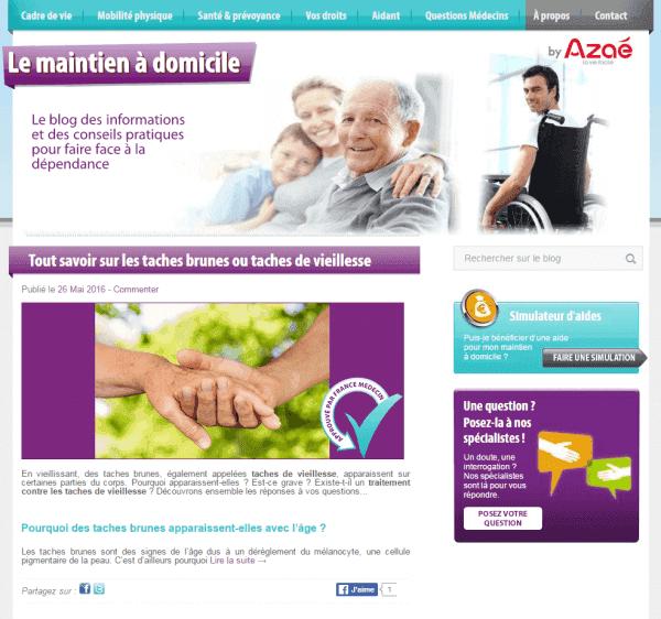 blog maintien a domicile présentation forESTIME vetements seniors