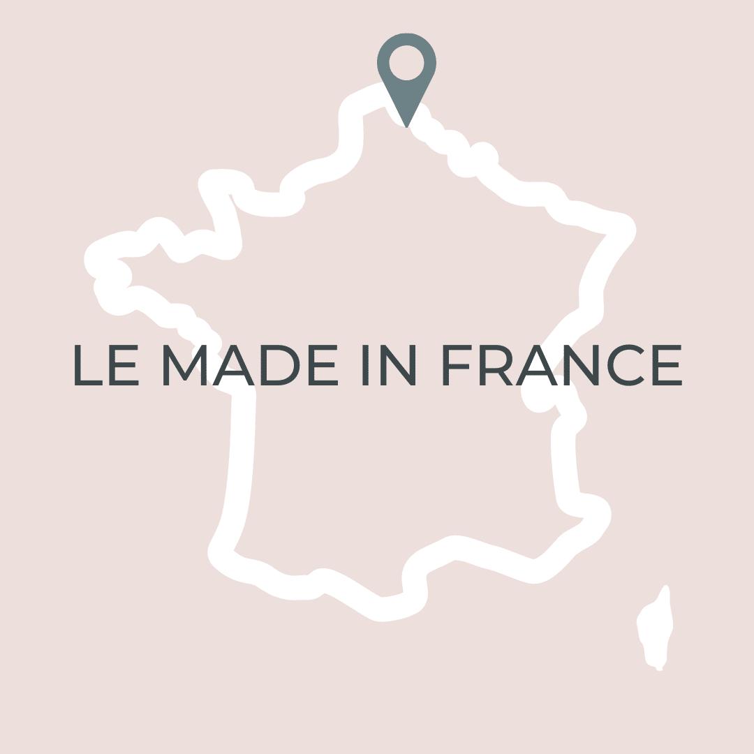 vetements made in france carte de France