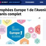 Lauréat 2021 trophée de l'avenir Europe 1 forestime solidarité senior vêtements adaptés