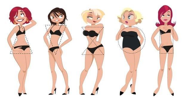 vêtements selon sa morphologie adaptés